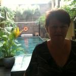 Jennifer Peterson at 100 Sunset Boutique Hotel, Kuta